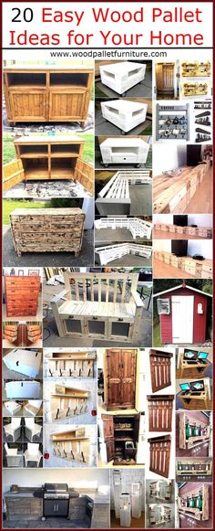 Wood pallets are utilized for packing the items with more chances of getting damaged when they need to be shifted to a far off place and once they fulfill their primary task, they are thrown away in the garbage. The main reason of the throwing them is people are unaware of the secondary use of the pallets and those who know how they can save money with them, gather them at low cost and modify them into the furniture and other items with which they decorate their home uniquely. Here we have…