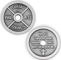 Love their necklaces, especially this weight plate scripture one!