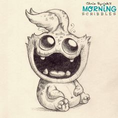Flossing is super easy for Bugbite! #morningscribbles