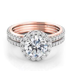 #Danhov exclusively at #Capri #Jewelers #Arizona ~ www.caprijewelersaz.com  ♥ Stunning Engagement Ring!