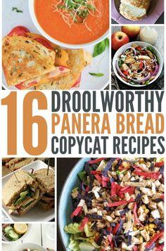 16-drool-worthy- panera-copycat recipes Healthy Family Meals, Kids Meals, Healthy Snacks, Healthy Recipes, Family Recipes, Snack Recipes, Delicious Sandwiches, Best Food Ever, Kid Friendly Meals