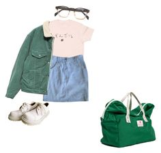 """""""Untitled #26"""" by meh-okay ❤ liked on Polyvore featuring Chloé, Bag'n'Noun and 90s"""