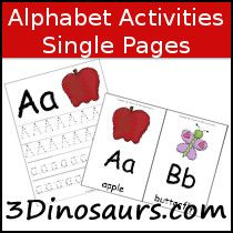 ABC Activities - Single Page