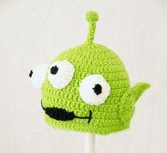 Toy Story Alien Green Hat Disney Pixar Send Size Baby - Adult