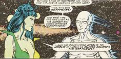 Silver Surfer and Mantis