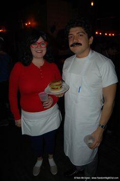 Bob and Linda from 'Bob's Burgers'