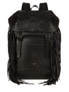 Rider fringed leather backpack   Givenchy   MATCHESFASHION.COM US
