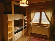 Green Cottage - O cabană superbă, chiar în grădina Carpaților - Wildventure Romania, Bunk Beds, Cottage, Green, Furniture, Home Decor, Cabin, Decoration Home, Loft Beds