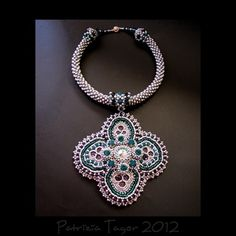 Ocean Flower Necklace 03