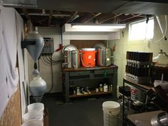 Gotta Have A Brew Room In The Basement!