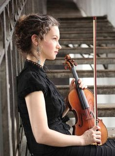 One of my favorite violinists- Hilary Hahn.