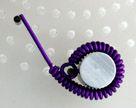 Classic Hoop Earrings jewelry making project, step 4