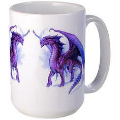 Purple Dragons Mug on CafePress.com