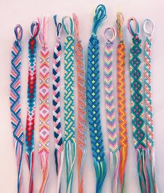 45 Wonderful DIY Bracelet Ideas You Will Totally Love – Armband – - Diy Jewelry İdeas Yarn Bracelets, Summer Bracelets, Bracelet Crafts, Love Bracelets, String Bracelets, Braclets Diy, Ankle Bracelets, Handmade Bracelets, Embroidery Thread Bracelets