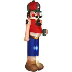 Inflatable Redneck Nutcracker Outdoor Christmas Yard Decor by cristina Redneck Christmas, Tacky Christmas Party, Nutcracker Christmas, Xmas Party, Ugly Christmas Sweater, Christmas Diy, Ugly Sweater, Christmas Stuff, Family Christmas