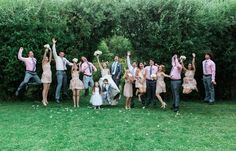 Fun bridal group picture | Dina Remi Ritter Photography
