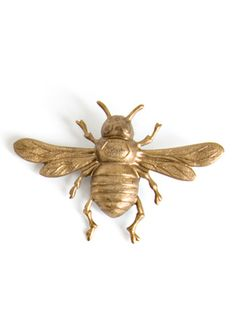 Beaux Maison Brass Bee Magnets-- for kids bulletin board Today Is A New Day, I Love Bees, Bee Jewelry, Jewellery, Bee Art, Bee Happy, Save The Bees, Busy Bee, Bees Knees