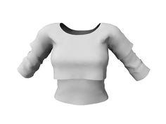b04f32fcb47 FULL PERM Mesh Women s Duo T-Shirt Shirt Template