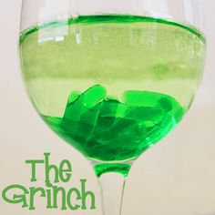 Expect Moore: The Grinch Holiday Cocktail