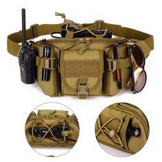 Army - ★ Military ★ Crossbody Waist Bag