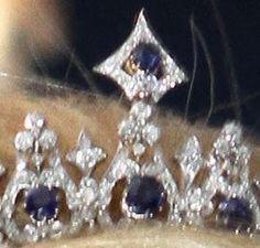 Tiara Mania: Sapphire Parure Necklace Tiara