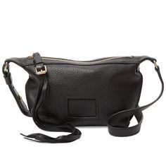 (씨바이끌로에)Small Buckle & Tassel Pull Leather Crossbody