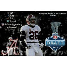 Landon Collins Alabama Crimson Tide 2015 NFL Draft Prospect #26 PSMOTIVATE