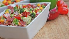 broccoli salad - possible recipe for the holidays