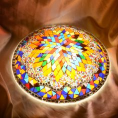 Wall mosaic lamp | Mosaic Lamp, Floor Lamps,Turkish Lights, Table Lamps,Ceiling Light