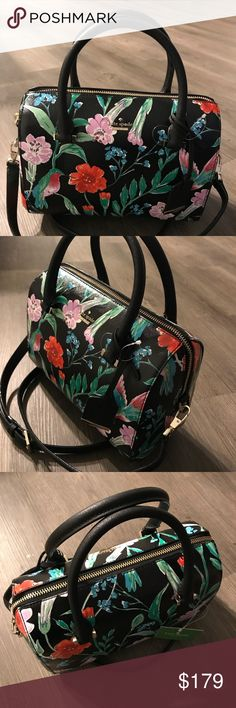 "❤️ Kate Spade Large Lane Leather Satchel  This beautiful black multi satchel is 10""x8""x4,5"". Comes with a dust bag kate spade Bags Satchels"