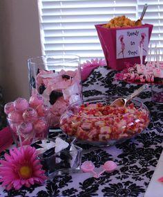 Baby Shower dessert bar, baby shower ideas