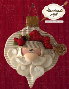 Christmas Fabric, Christmas Colors, Christmas Holidays, Christmas Crafts, Merry Christmas, Christmas Decorations, Handmade Ornaments, Xmas Ornaments, Handmade Christmas