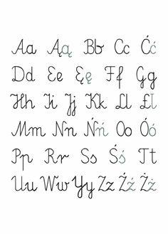 Plakat Literki od NUNU BABA. Pokaż swojemu dziecku świat alfabetu. Świetny plakat na ścianę. Plakat do pokoju dziecięcego. Plakat alfabet. Math, Math Resources, Mathematics