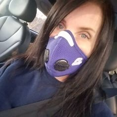 Respro bonus benefits.  When you forget to take it off before walking out of work.  29 degrees doesn't feel nearly as cold. #Respro #environmentalprotection #mcas #mastcelldisorders #mastcellactivition