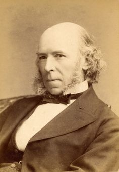 "Herbert Spencer (1820 - 1903) was an English philosopher and political and social theorist. Spencer was enormously influential in Britain and the United States. He is credited with coining the phrase ""survival of the fittest"" which he came up with after reading Charles Darwin's work."