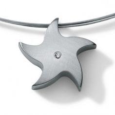 Humphrey Stern Anhänger kaufen Juwelier Steiner - http://www.steiner-juwelier.at/Schmuck/Humphrey-Anhaenger-Diamant-Stern::411.html
