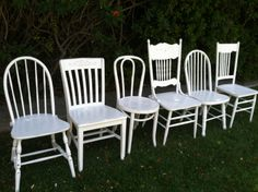Custom Set of Chairs Mix and Match Set of 4 by ThePaintedLdy, $489.00