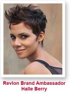 Halle Berry short haircut