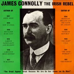 James Connolly the Irish Rebel - Eugene McEldowney: Irish Republican Music at theBalladeers Irish Independence, Irish Republican Army, Irish Drinks, Easter Rising, Irish Celtic, Celtic Fc, Irish Potatoes, Irish Landscape, Erin Go Bragh