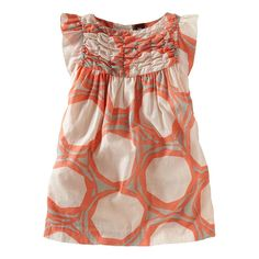 Dot Print Party Dress :: Tea Collection