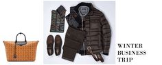 WINTER BUSINESS TRIP  www.sailerstyle.com #sailerstyle #fashion #onlineshop Business Travel, Sling Backpack, Winter, Jackets, Bags, Fashion, Winter Time, Down Jackets, Handbags