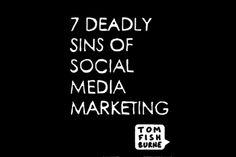 Os 7 pecados capitais do marketing nas mídias sociais – veja quais sao