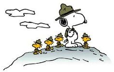 Snoopy Scout