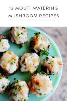 13 Mouthwatering Mushroom Recipes via @PureWow