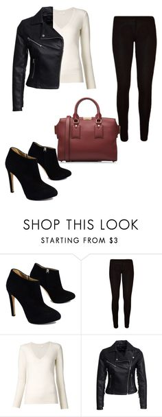 """""""Pop of color"""" by denise-ealy on Polyvore featuring Giuseppe Zanotti, Chloé, New Look and Burberry"""