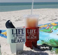 Are you ready for the beach? Must have a Spiker Lifestyle Holder. Just Spike It! Keeps your items within reach & sand-free! Contact your local gift boutique or find us online.  www.spikercompany.com