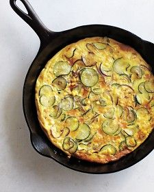 Spicy Zucchini Frittata - Whole Living Eat Well