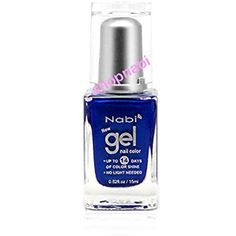 Nabi Gel Nail Polish No.66 Navy Blue *** You can get more details by clicking on the image. (This is an affiliate link) #NailPolish