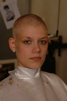 Are barber shop women shaved their heads you tell