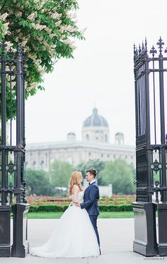 May Austria, Vera Wang dress, bride & groom Photo from Doris + Michael collection by die Ciuciu's Bride Groom Photos, Vera Wang Dress, Dory, Wedding Dresses, Collection, Fashion, Vienna, Bride Dresses, Moda